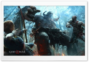God of War PS4 Atreus Son of...