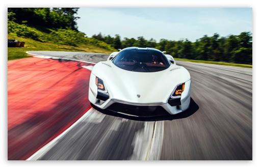 Download SSC Tuatara Sports Car UltraHD Wallpaper