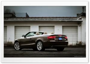 Audi A5 Cabriolet in Teak Brown