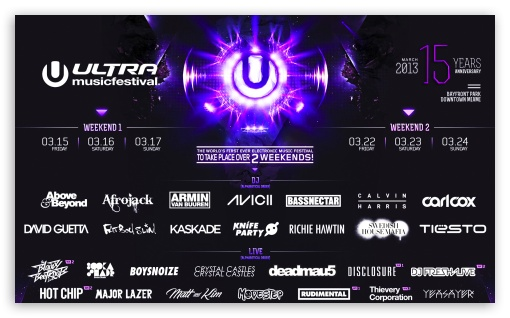 Download Ultra Music Festival 2013 UltraHD Wallpaper