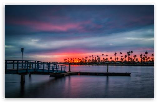 Download California Sunset UltraHD Wallpaper