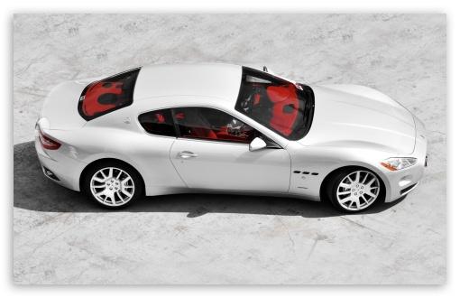 Download Silver Maserati UltraHD Wallpaper
