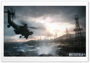 Battlefield 4 Chopper Sea