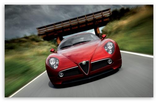 Download Alfa Romeo 8C Competizione UltraHD Wallpaper