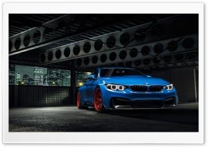 BMW Yas Marina Blue GTRS4