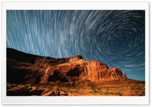 Glen Canyon, Star Trails,...