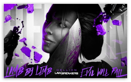 Download LawBreakers video game, Hellion UltraHD Wallpaper