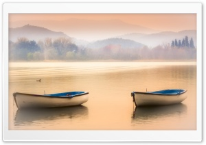 Late Afternoon In Banyoles,...