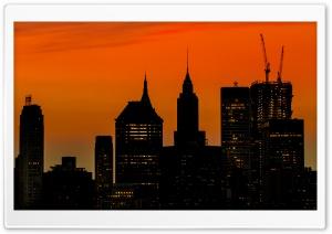 Manhattan Buildings...