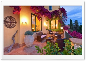 Beautiful House Terrace