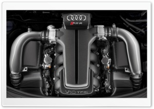 Audi RSS V10 TFSI Engine