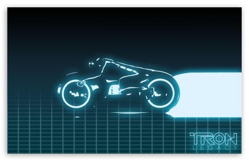 Download Tron Grid UltraHD Wallpaper