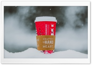Starbucks Coffee Cup Crafted...