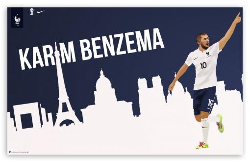Download Karim Benzema France Worldcup UltraHD Wallpaper