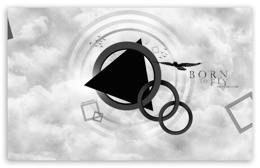 Download Born to Fly UltraHD Wallpaper