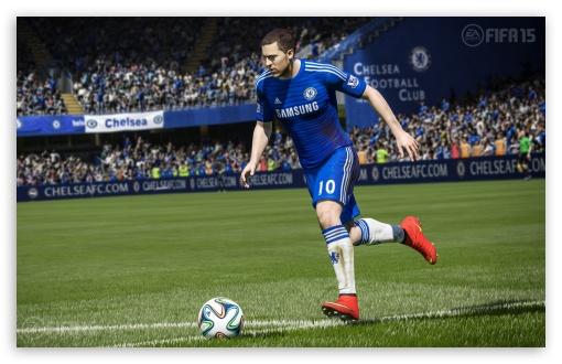 Download EA FIFA 15 - Eden Hazard UltraHD Wallpaper