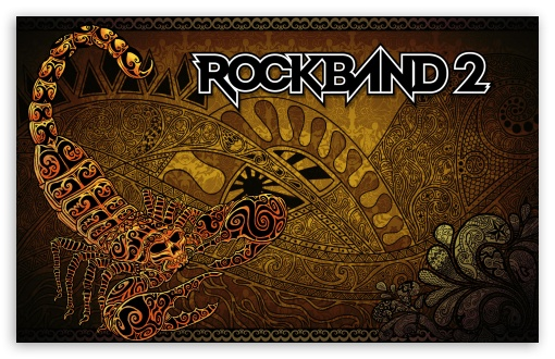 Download Rock Band 2 UltraHD Wallpaper