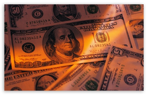 Download Dollars UltraHD Wallpaper
