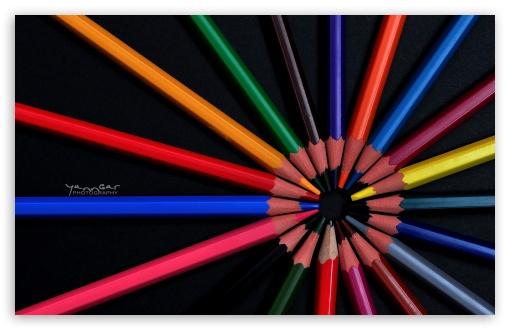 Download Crayons UltraHD Wallpaper
