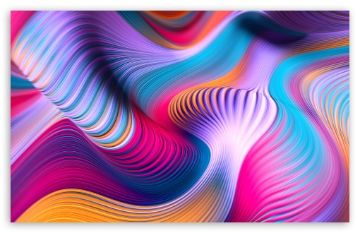 Download Modern Abstract Colorful Art UltraHD Wallpaper