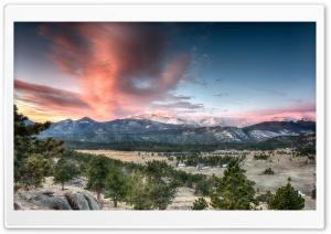 Rocky Mountains Landscape,...