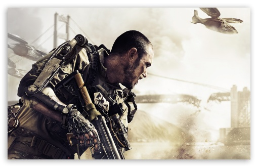 Download COD Advanced Warfare 2014 video game UltraHD Wallpaper