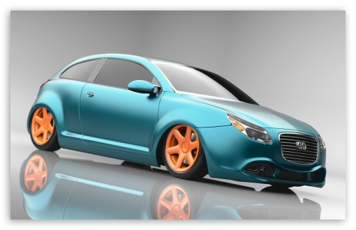 Download Tiefergelegtes Auto UltraHD Wallpaper