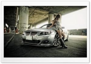 BMW and Girl