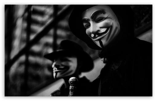 Download Anonymous UltraHD Wallpaper