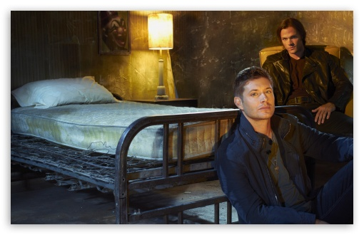 Download Supernatural, Jensen Ackles and Jared Padalecki UltraHD Wallpaper