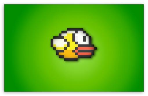 Download Flappy Bird UltraHD Wallpaper