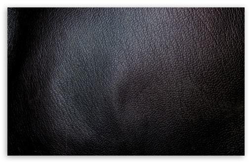 Download Black Leather UltraHD Wallpaper