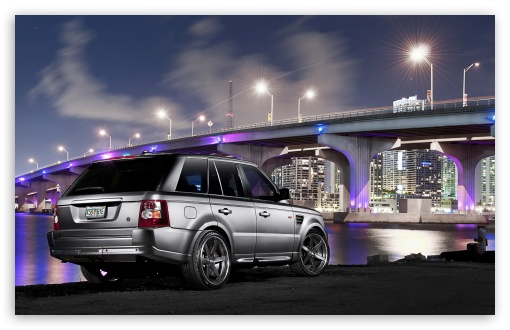 Download Range Rover City UltraHD Wallpaper
