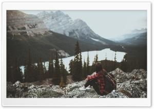 Girl, Travel, Mountains,...