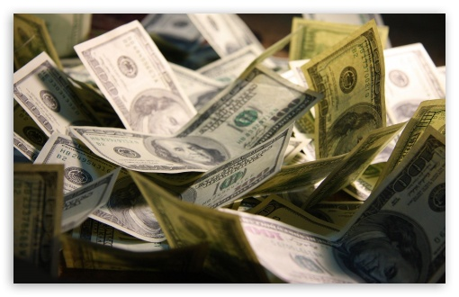 Download Hundred Dollars UltraHD Wallpaper