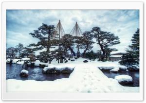 Kenrokuen Garden Winter