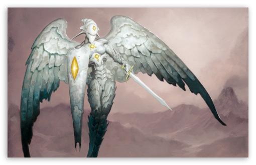 Download Stone Angel Art UltraHD Wallpaper