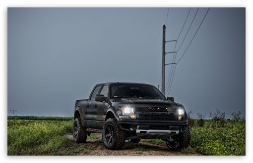Download Ford F 150 SVT Raptor Front UltraHD Wallpaper