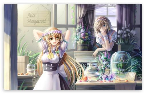 Download Touhou Anime UltraHD Wallpaper