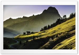 High Alpine Landscape