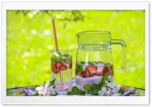 Strawberry Lemonade Pitcher