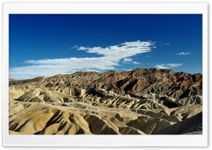 Badlands, Death Valley