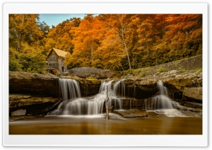 Glade Creek Grist Mill at...