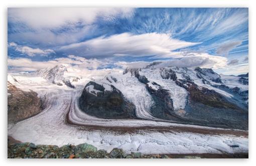 Download The Glaciers Of The Alps UltraHD Wallpaper