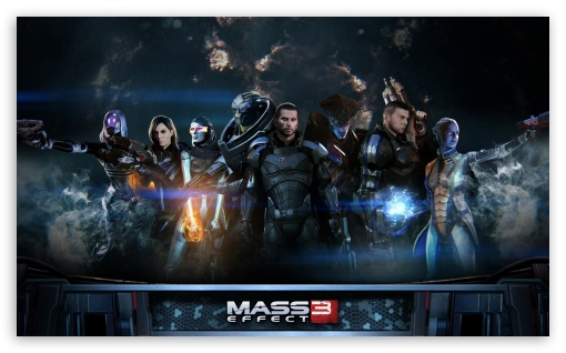 Download Mass Effect 3 UltraHD Wallpaper