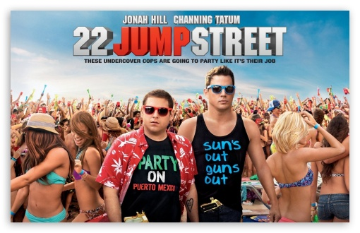 Download 22 Jump Street UltraHD Wallpaper