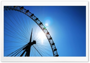 London Eye Lense flare