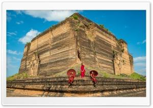 Min Kun Pagoda Myanmar