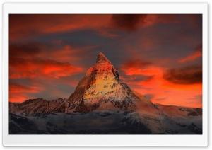 Matterhorn mountain, Alps,...