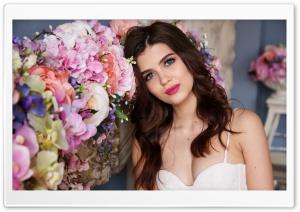 Beautiful Russian Girl, Flowers